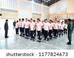 photo of thai teenage students...   Shutterstock . vector #1177824673