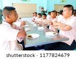 photo of thai teenage students... | Shutterstock . vector #1177824679