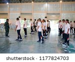 photo of thai teenage students...   Shutterstock . vector #1177824703