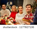 holidays and celebration... | Shutterstock . vector #1177827130