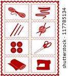 ball,border,button,cloth,craft,crochet,diy,do it yourself,embroidery,eps,fashion,frame,handmade,homemade,hook