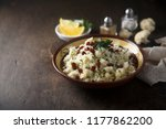 cauliflower couscous with... | Shutterstock . vector #1177862200