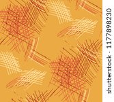 various hatches. seamless... | Shutterstock .eps vector #1177898230