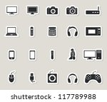 technology web icons set.... | Shutterstock .eps vector #117789988