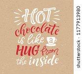vector holidays lettering.... | Shutterstock .eps vector #1177913980