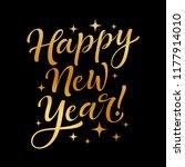 vector holidays lettering.... | Shutterstock .eps vector #1177914010
