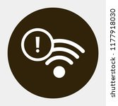 wi fi vector icon 10 eps | Shutterstock .eps vector #1177918030