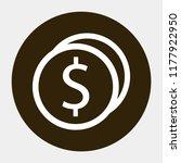 cent vector icon eps10 | Shutterstock .eps vector #1177922950