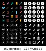 art icons set | Shutterstock .eps vector #1177928896