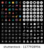 money icons set | Shutterstock .eps vector #1177928956