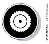 gear setup isolated icon   Shutterstock .eps vector #1177930129