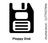 floppy disk icon vector... | Shutterstock .eps vector #1177937896