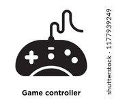 game controller icon vector... | Shutterstock .eps vector #1177939249