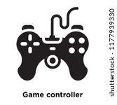 game controller icon vector...   Shutterstock .eps vector #1177939330