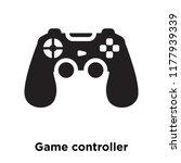 game controller icon vector... | Shutterstock .eps vector #1177939339