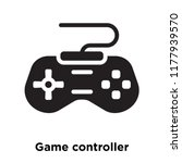 game controller icon vector... | Shutterstock .eps vector #1177939570