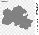 high quality map of hua phan is ... | Shutterstock .eps vector #1177944103