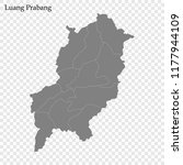 high quality map of luang... | Shutterstock .eps vector #1177944109