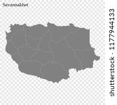 high quality map of savannakhet ... | Shutterstock .eps vector #1177944133
