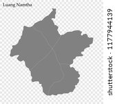 high quality map of luang... | Shutterstock .eps vector #1177944139