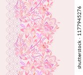 lace paisley vertical seamless... | Shutterstock .eps vector #1177945276
