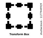 transform box icon vector... | Shutterstock .eps vector #1177949929