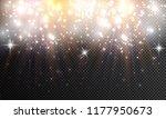 vector isolated spotlight.... | Shutterstock .eps vector #1177950673