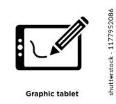graphic tablet icon vector...   Shutterstock .eps vector #1177952086