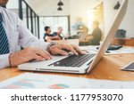 business team present.... | Shutterstock . vector #1177953070