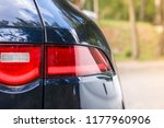 dark car back lights | Shutterstock . vector #1177960906