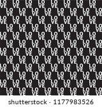 love repetition seamless... | Shutterstock .eps vector #1177983526