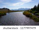 salmon river  idaho. scenic...   Shutterstock . vector #1177997479