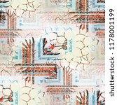 seamless pattern complex design.... | Shutterstock . vector #1178001199