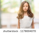 brunette hispanic girl with... | Shutterstock . vector #1178004070