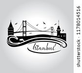 istanbul logo  icon and symbol... | Shutterstock .eps vector #1178014516