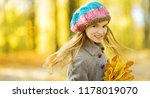 cute little girl having fun on... | Shutterstock . vector #1178019070