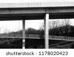pedestrian walkway under the...   Shutterstock . vector #1178020423