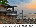 cheap bungalows for backpackers ... | Shutterstock . vector #1178021200