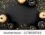 modern background with black... | Shutterstock . vector #1178028763