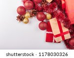 christmas and new year... | Shutterstock . vector #1178030326