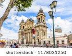 guatemala city  guatemala   ... | Shutterstock . vector #1178031250