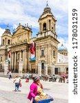 guatemala city  guatemala   ... | Shutterstock . vector #1178031259