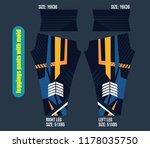 leggings pants fashion vector... | Shutterstock .eps vector #1178035750