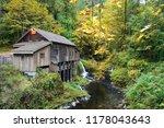 cedar creek grist mill  wa usa | Shutterstock . vector #1178043643