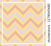 modern pastel color zigzag... | Shutterstock .eps vector #1178045680