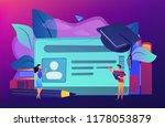school smart card with photo...   Shutterstock .eps vector #1178053879
