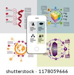 infographic concept  vector | Shutterstock .eps vector #1178059666
