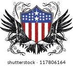 usa shield | Shutterstock .eps vector #117806164