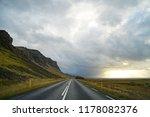 road in iceland. | Shutterstock . vector #1178082376