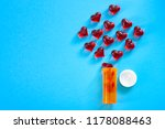valentines day  love is a drug... | Shutterstock . vector #1178088463